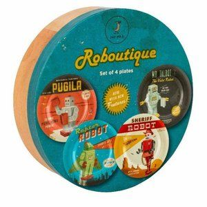 Roboutique Side Plates by Magpie